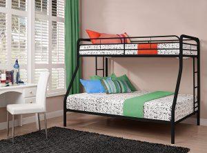 Детская кровать с разложенным диваном