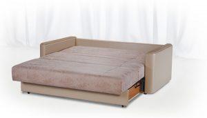 Диван-кровать в разложенном состоянии