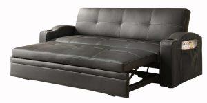 Узкий выкатной диван