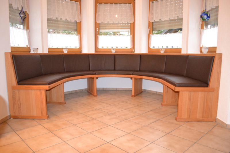 Эркерный диван на кухню своими руками 47