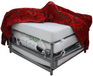 Коркасный пуф-кровать