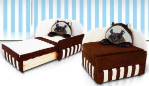 Кресло - кровать с бортиком