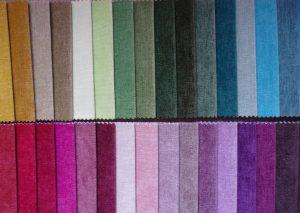Разные цвета обивочной ткани