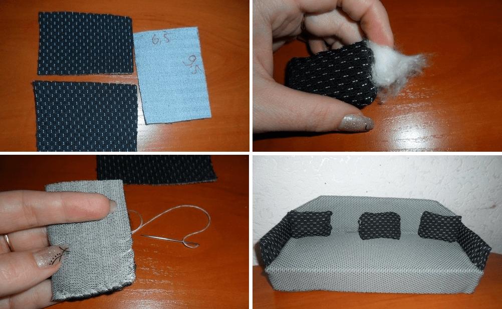 Как сделать подушку для куклы своими руками 175