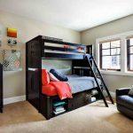 Двухъярусная детская кровать с диваном для родителей: особенности и модели