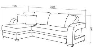 угловой диван размеры разных моделей и советы по выбору
