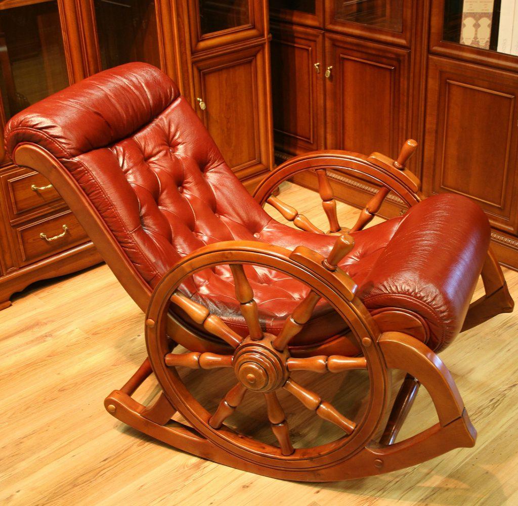 Как из старого кресла сделать кресло качалку своими руками 2