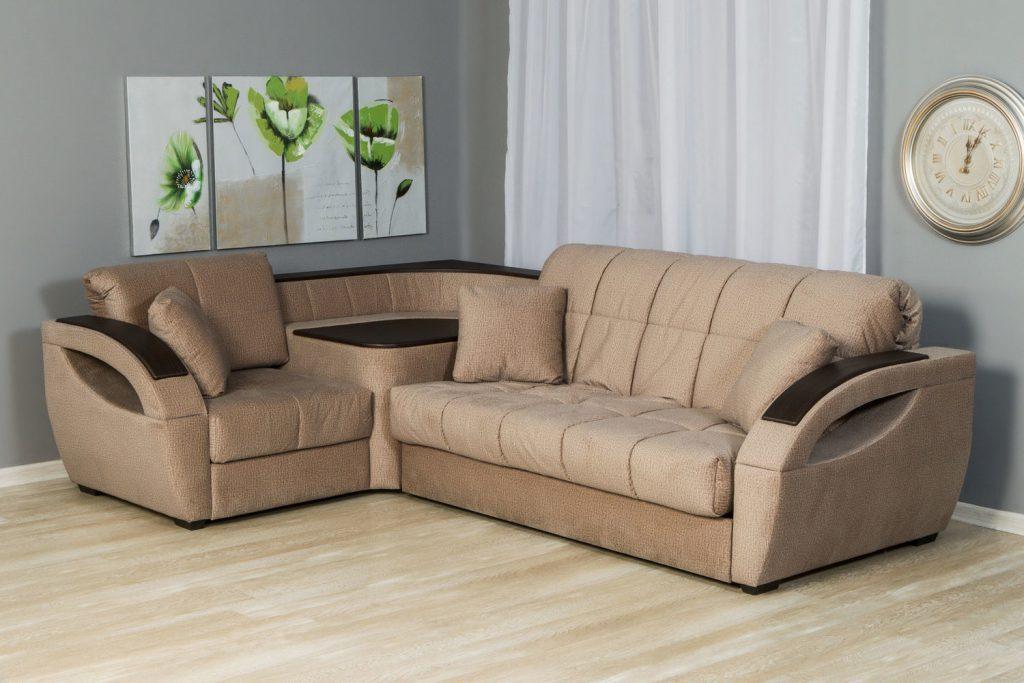 "Угловой диван с механизмом ""аккордеон"" (35 фото): модели ""ка."