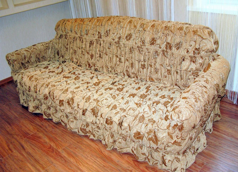 Накидки на диван и кресла
