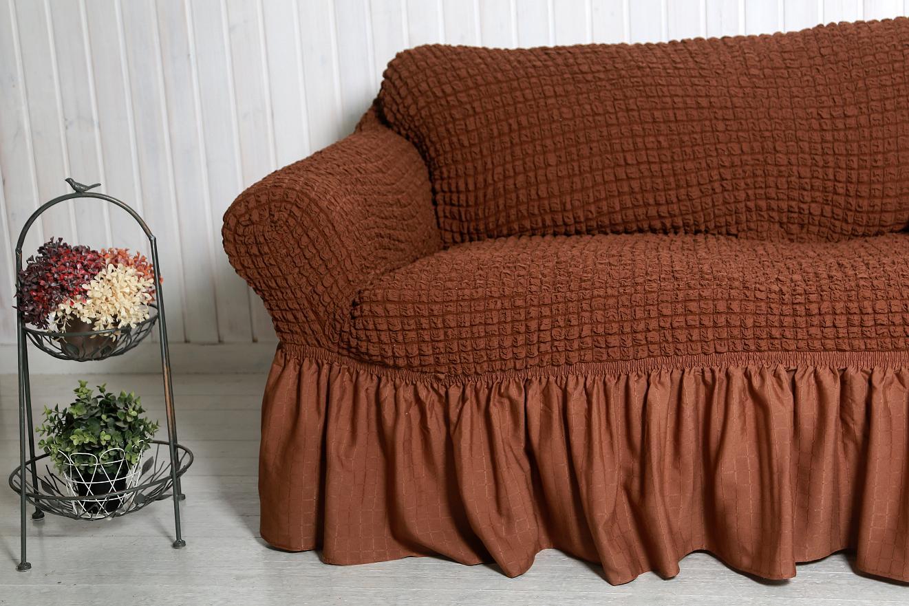 Как пошить чехол на диван на резинке своими руками