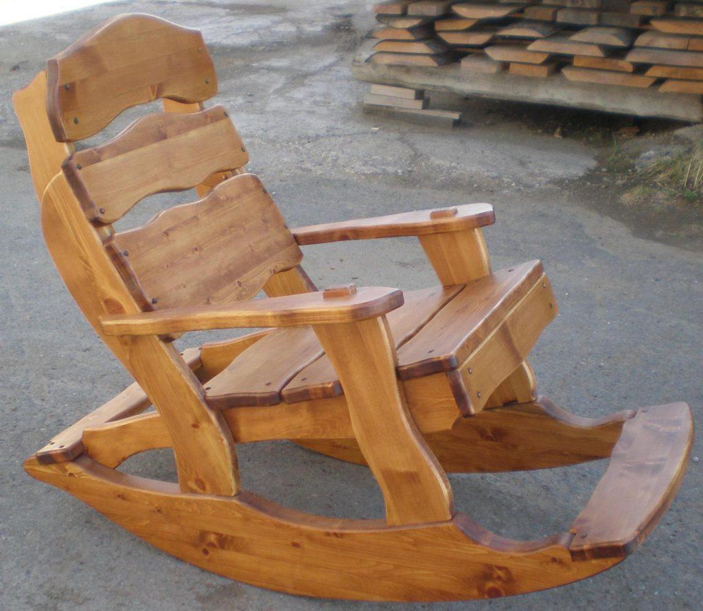 Кресло качалку своими руками из дерева