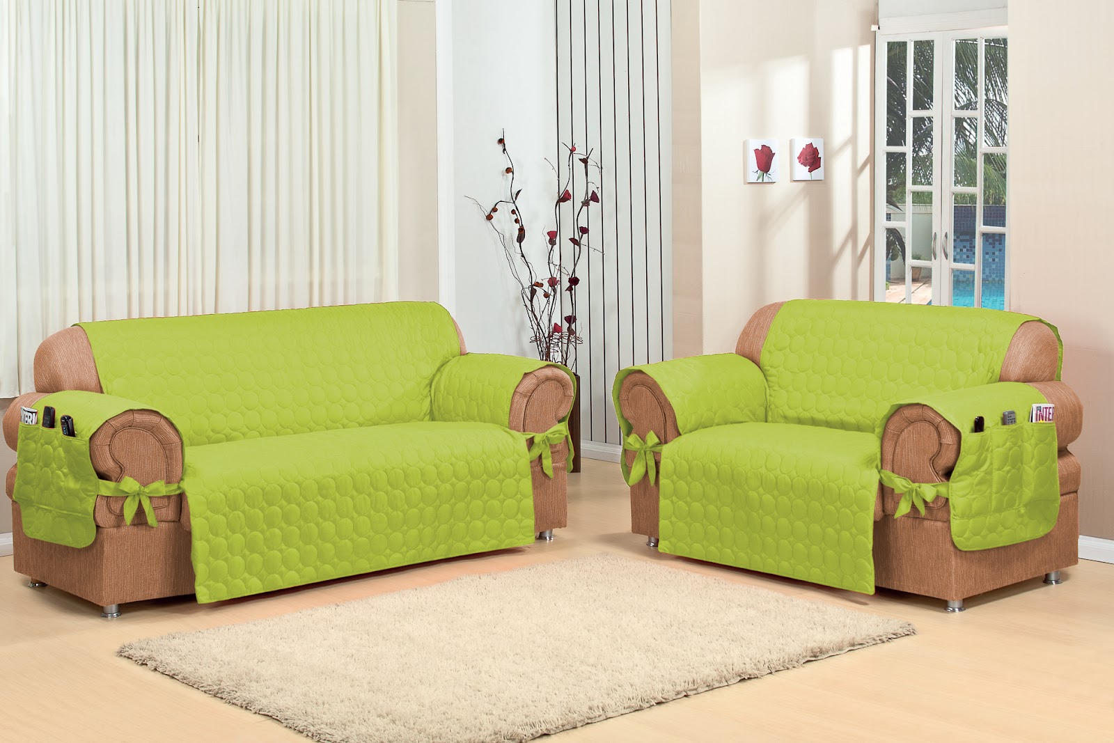 Как сшить накидку на диван без подлокотников