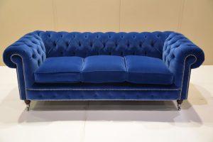 Обивка дивана из велюра