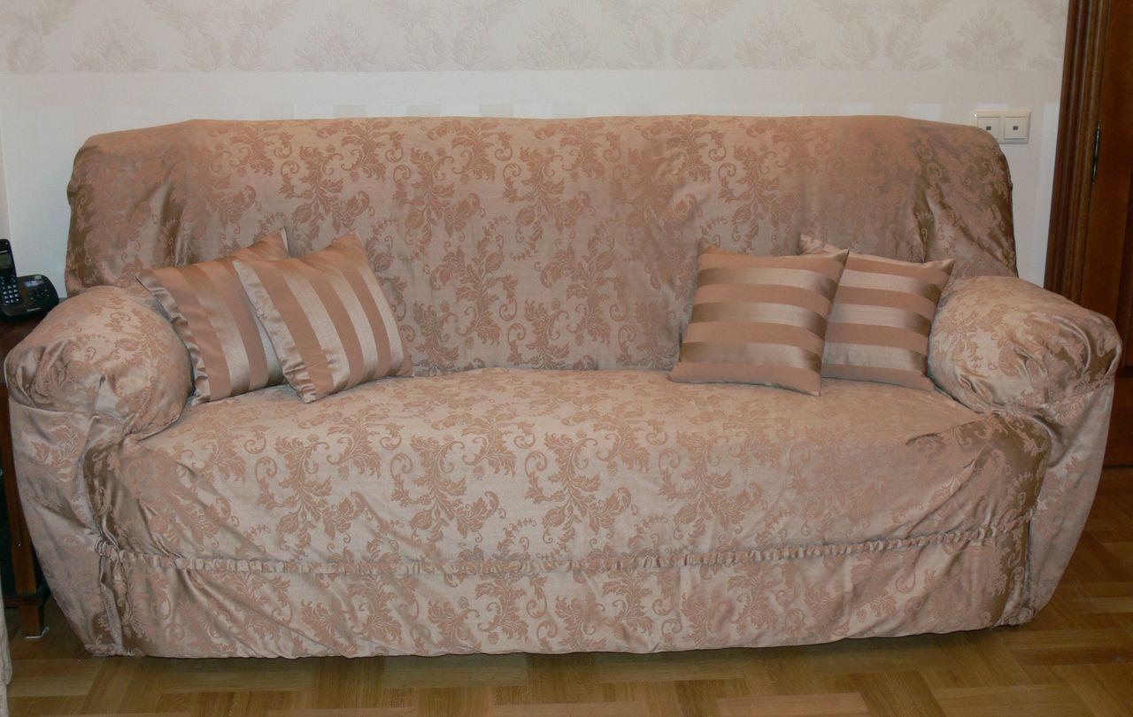 Чехол для дивана на резинке своими руками фото фото 173