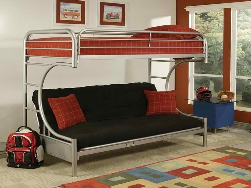 двухъярусная кровать с диваном внизу для родителей как сделать