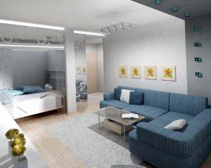 Ремонт однокомнотной квартиры