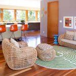 Почему нужно использовать плетеную мебель в интерьере