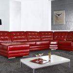 Элитный интерьер или использование кожаного дивана