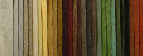 Какие ткани чаще всего используют для обивки мебели