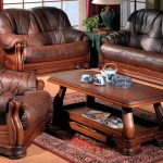 Как ухаживать за мебелью из натуральной кожи