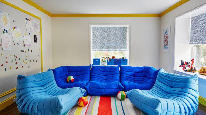 Бескаркасный диван — отличное решение для любого интерьера