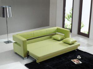 Диван кровать зеленого цвета