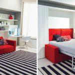 Кровати-трансформеры с диваном: виды и использование механизмов
