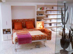 Кровать, превращающаяся в диван