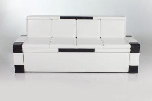 Белый кухонный диван