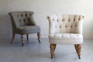 Элегантное кресло небольших размеров