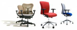 Кресла разных цветов