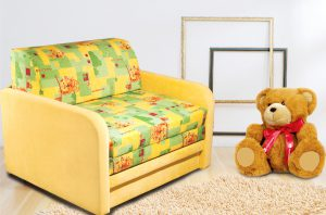 Компактное детское кресло - кровать