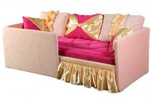 Диван - кровать с бортиком от 3 лет