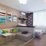 Как правильно сделать ремонт однокомнатной квартиры
