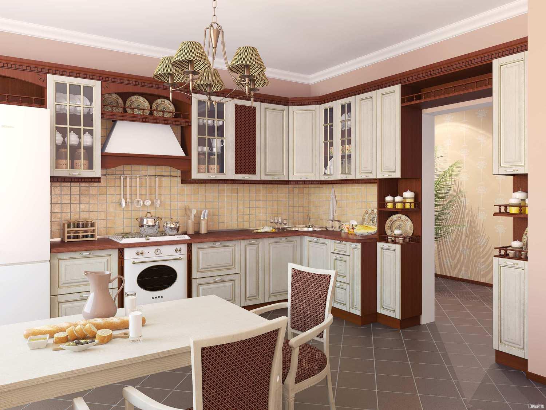 Красивый кухонный уголок