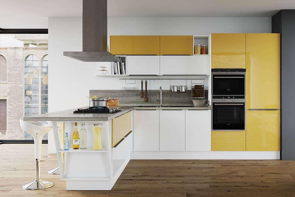 Типы кухонь