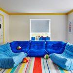 Бескаркасный диван – отличное решение для любого интерьера