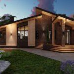 Плюсы строительства одноэтажных домов
